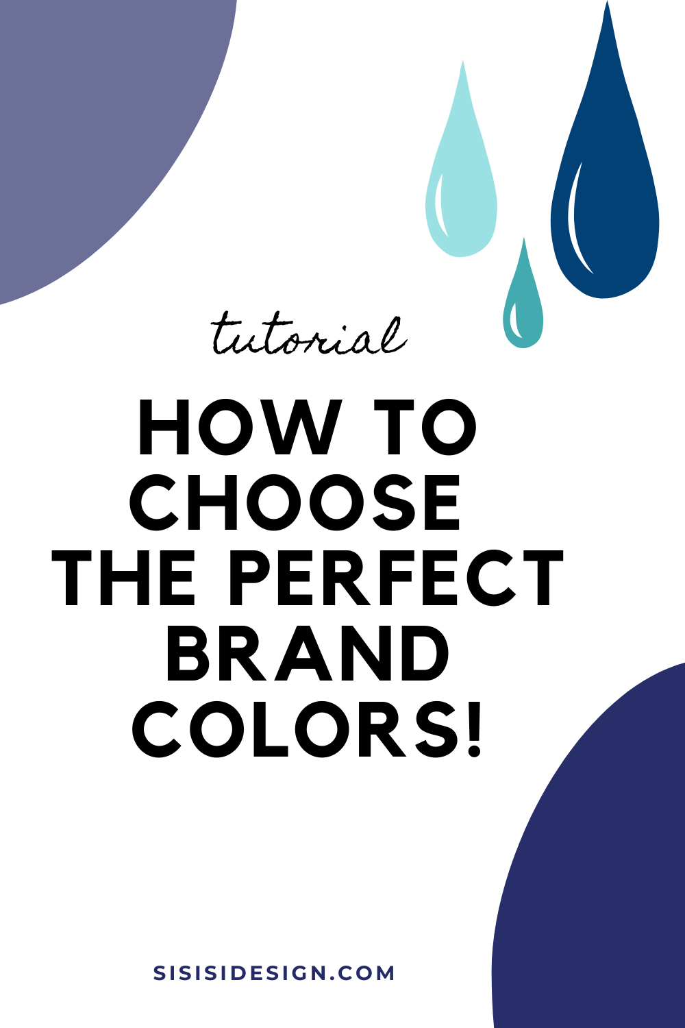 How to choose the perfect brand colors!