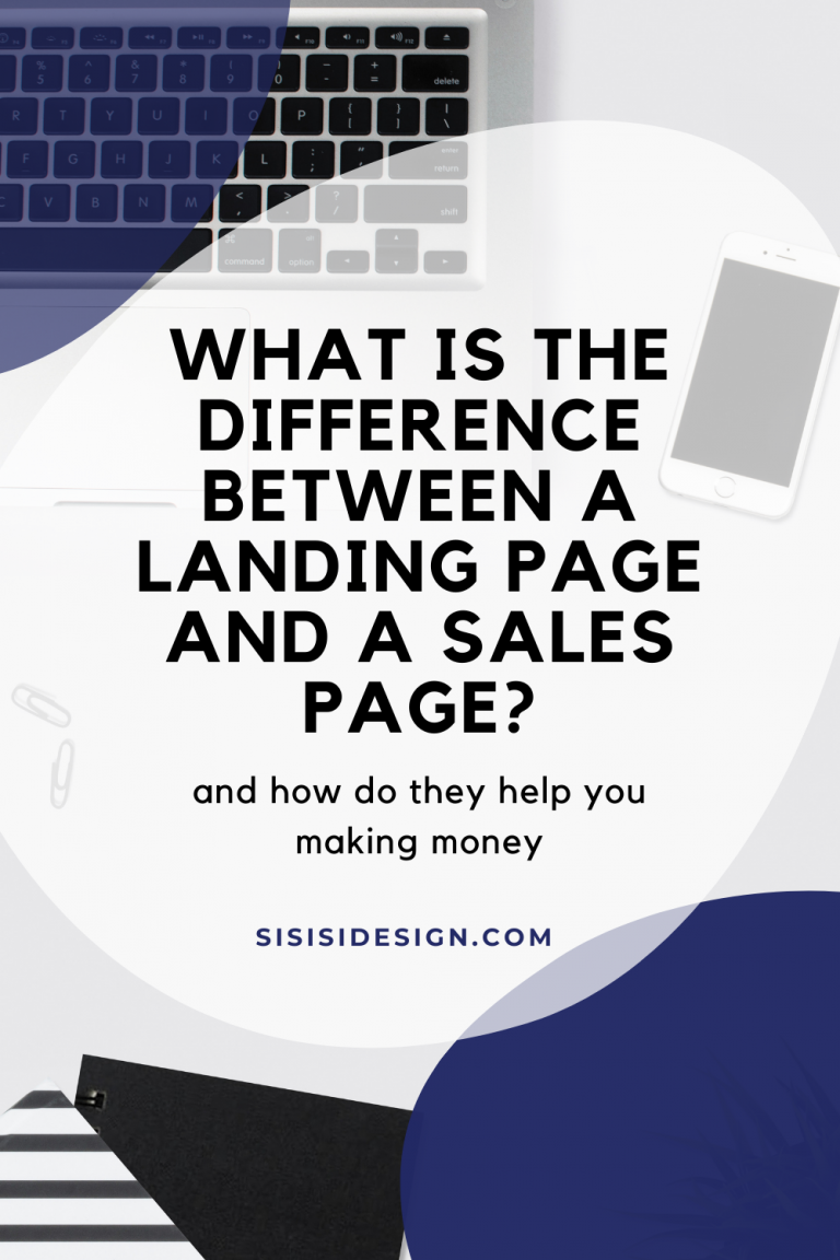What is the Difference Between a Landing Page and a Sales Page?
